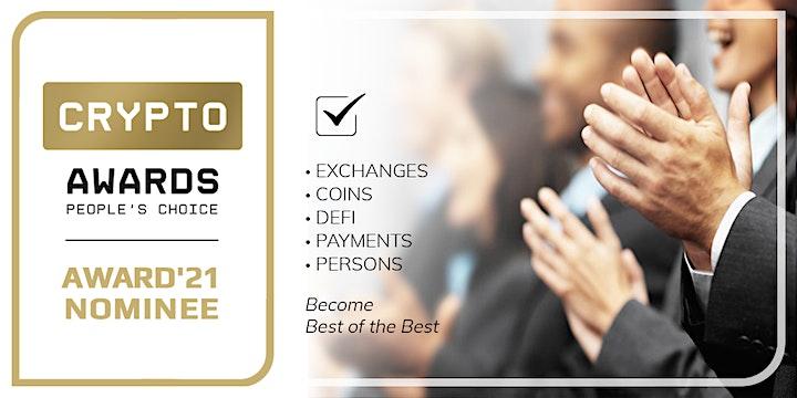 Crypto Awards 2021 image