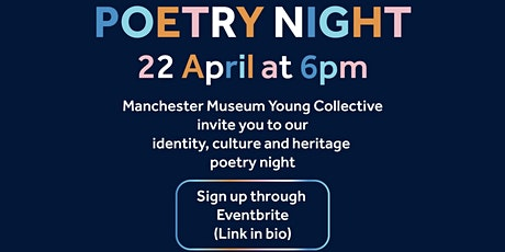 Spoken Word Night by Manchester Museum Young Collective tickets