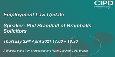 Virtual Employment Law Update with Bramhalls Solicitors tickets
