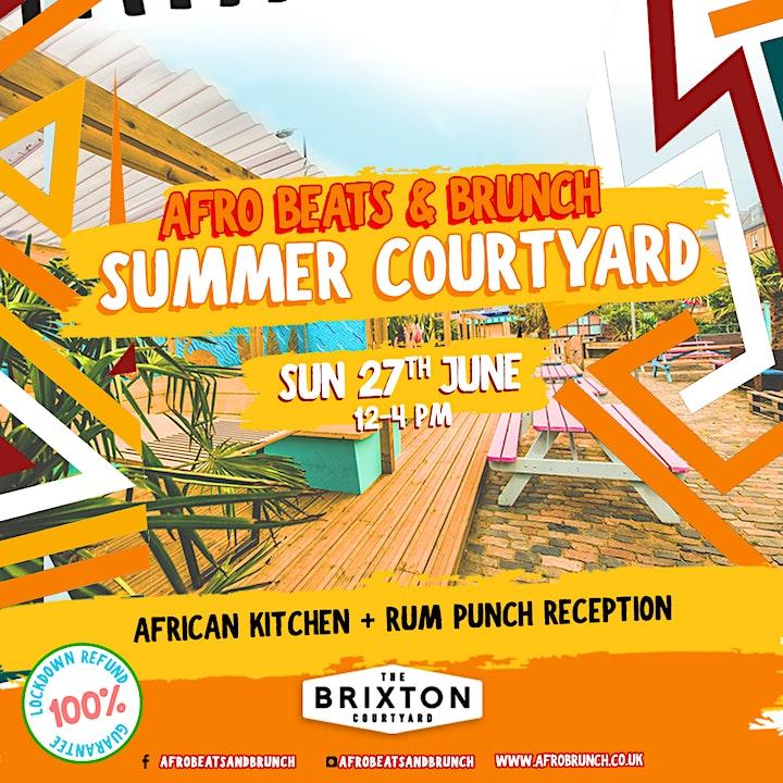 Afrobeats n Brunch Summer Courtyard image