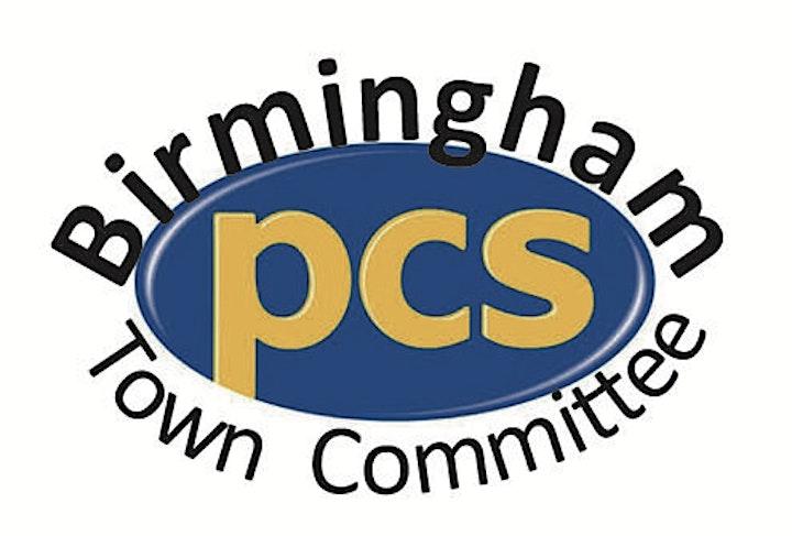 Brum PCS Organising Question Time image