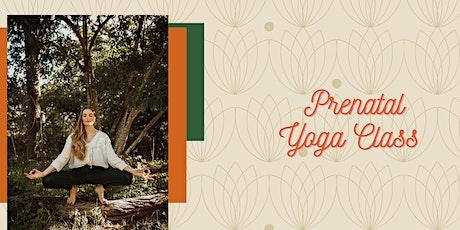Prenatal Yoga Flow Online tickets