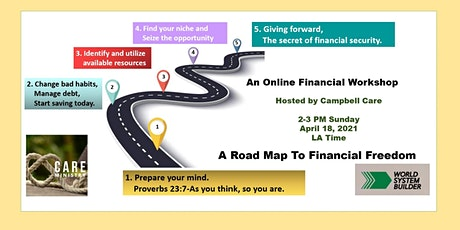 A Road Map To Financial Freedom Workshop tickets