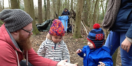 Wild Tots at Bradfield Woods - Monday 17 May EOC 2 tickets