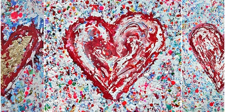 """Create Your Own Heart"" One Day Painting Workshop - September tickets"