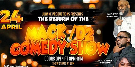Return of the Mack/D2 comedy show tickets