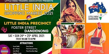 Little India Shopping Market tickets