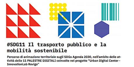 #SDG 11 Trasporto pubblico e mobilità sostenibile biglietti