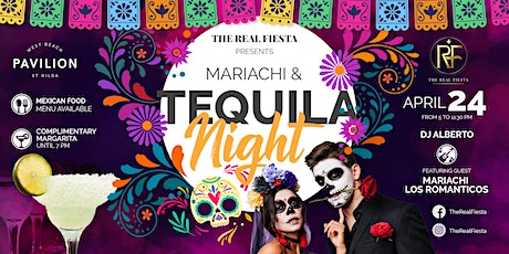 Mariachi and Tequila Night - Melbourne - 24 April 2021 - by The Real Fiesta tickets