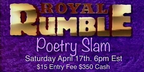 Purple Poetry Presents Royal Rumble Poetry Slam tickets