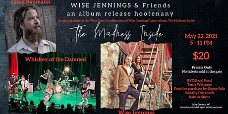 Wise Jennings, Craig Baumann, Whiskey of the Damned tickets