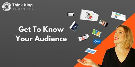 Get To Know Your Audience: Market Research Methods tickets