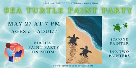 Sea Turtle Paint Party tickets