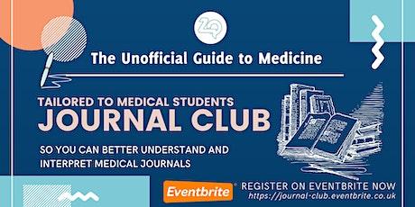 UGTM- Journal Club tickets