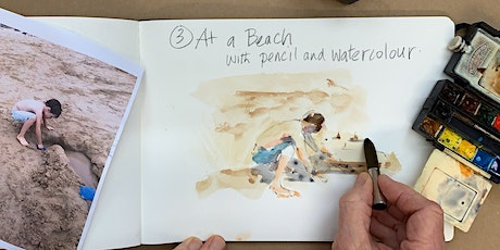 Using a Sketchbook: Pen, Pencil and Watercolours with Mike Willdridge tickets