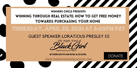 Winners Circle Presents Winning Through Real Estate tickets