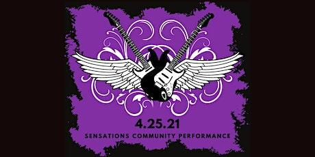 Sensations Community Performance tickets