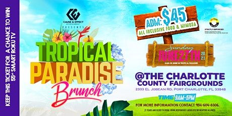 Tropical Paradise Brunch tickets
