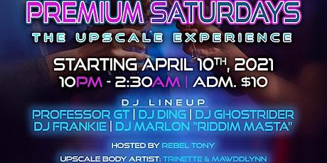 Premium Saturday's tickets