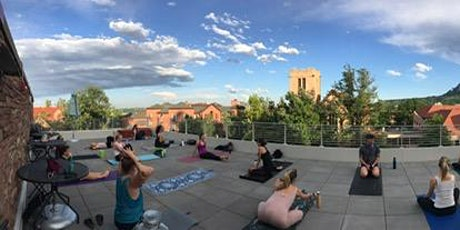Power Flow Yoga on the roof with Lisa Shanken tickets
