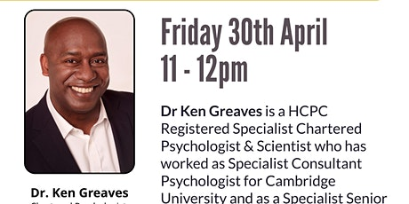 Educational Psychology Practice Autism with Dr. Ken Greaves tickets
