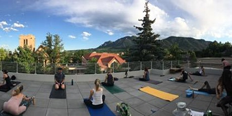 Gentle Yoga on the Roof with Kerry Maiorca tickets