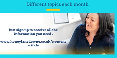 The women's circle - Free monthly personal development coaching for women tickets