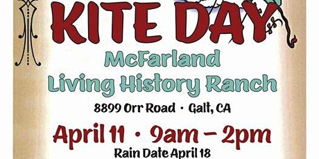 Galt Area Historical Society Kite Day tickets