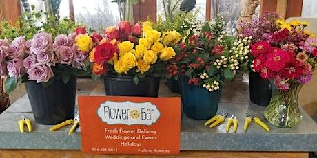 Spring DIY Floral Design Workshop- Admits 2 people (table reservation) tickets