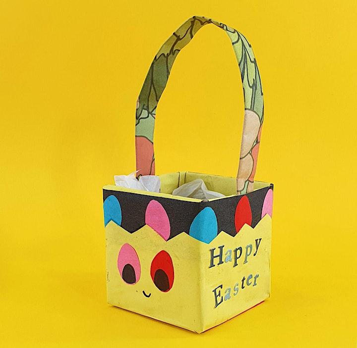Make Easter Baskets - Online Kids Easter Crafts image