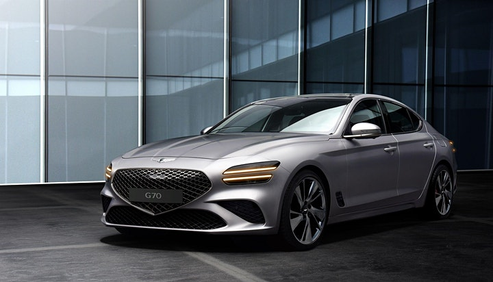 Genesis  Victoria Roadshow for the 2022 GV70 and G70 image