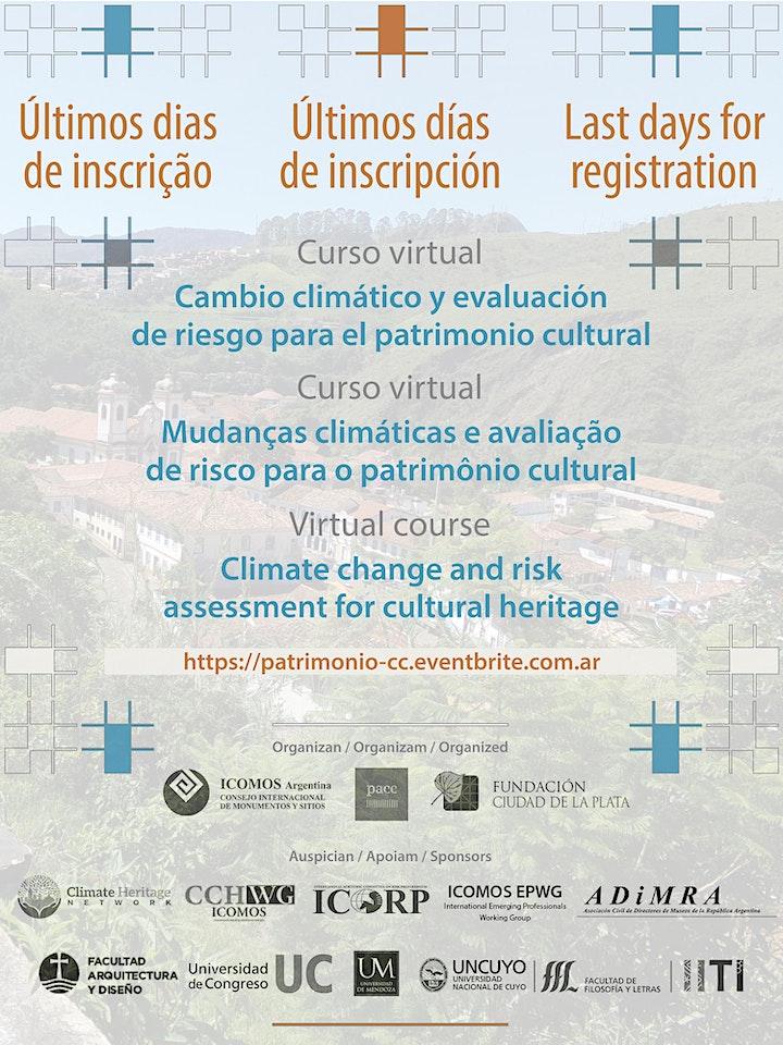 Imagen de Climate Change and Risk Assessment for Cultural Heritage | Edition 2021