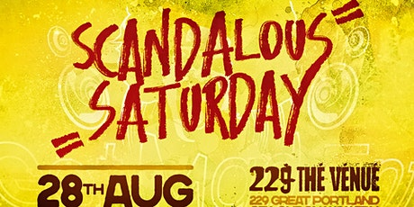 Notting Hill Carnival 2021 - Scandalous Saturday tickets