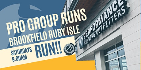 RUNS ARE BACK! Saturday Fun Run with Brooks! - Brookfield PRO tickets