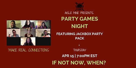 April - Party Games Night tickets