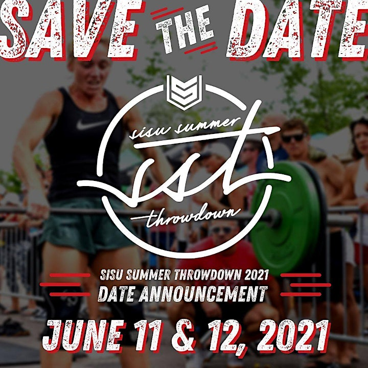 SISU Summer Throwdown 2021 image