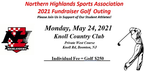 Northern Highlands Sports Association  2021 Fundraiser Golf Outing tickets
