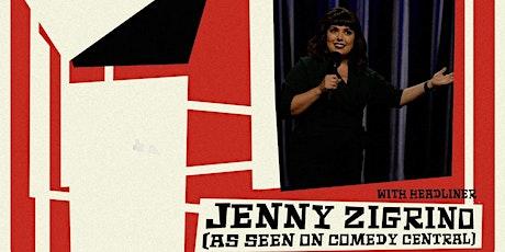 Jenny Zigrino at Parker Jazz Club tickets