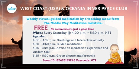 Middle Way meditation every Saturday tickets