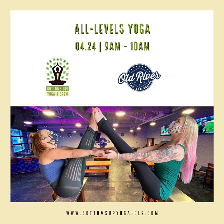 Bottoms Up! Yoga & Brew image