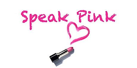Speak Pink Toastmasters tickets