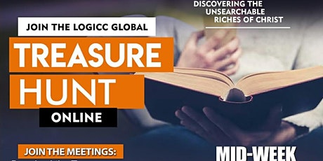 TREASURE HUNT - Weekly Bible Study (Wesnesdays@8.30pm) tickets