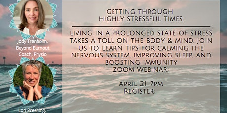 Highly Stressful Times Webinar tickets