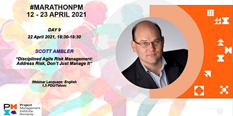 """Disciplined Agile Risk Management: Address Risk, Don't Just Manage It"". tickets"