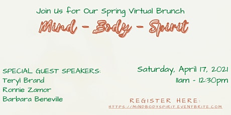 Spring Single Women's (Virtual) Brunch boletos