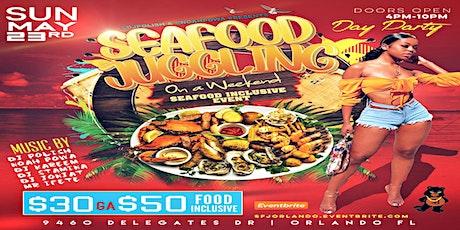 @DJPOLISH @NOAHPOWA & @DAREALFOOTWRK PRESENT SEAFOOD JUGGLING ORLANDO tickets