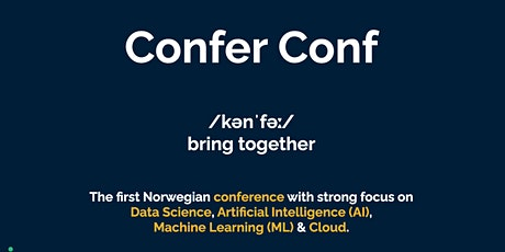 Confer Conference tickets