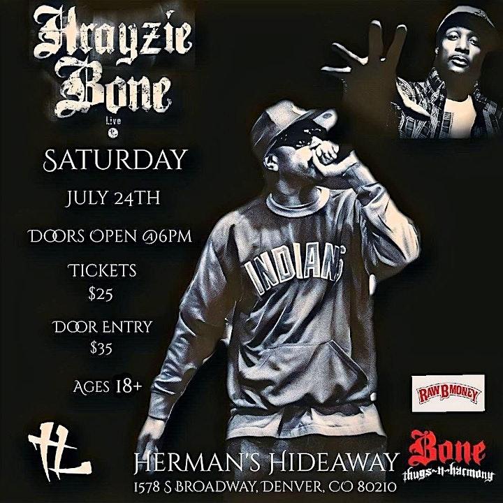Krayzie Bone Of Bone Thugs N Harmony. Live In Denv image