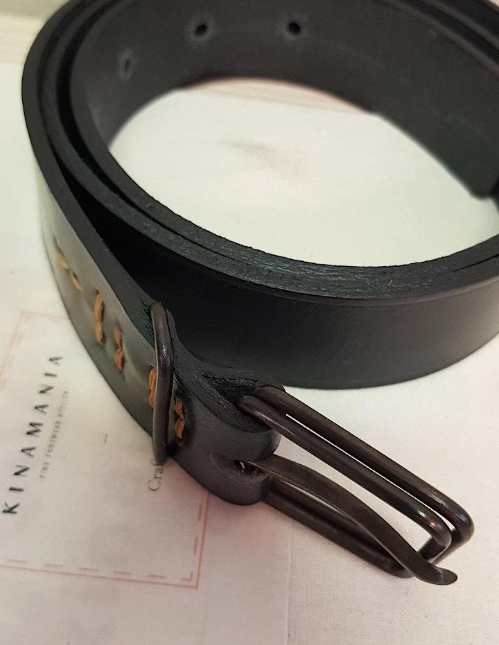 Ceinture cuir [Workshop] Leather belt image