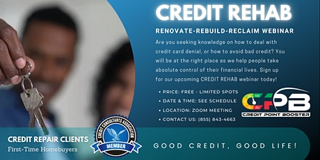 Credit Rehab tickets